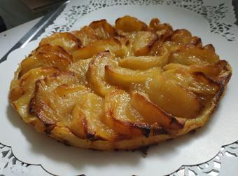 Tarte fine aux pommes2